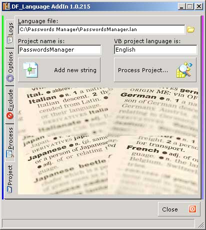 Click to view DF_Language 1.0.264 screenshot